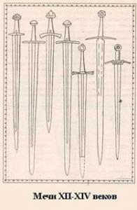 фурнитура кинжала или меча