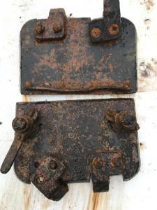 Pz-3, Stug 3 люк двухстворчатый