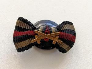 Пуговичная миниатюра к кресту Гинденбурга с мечами