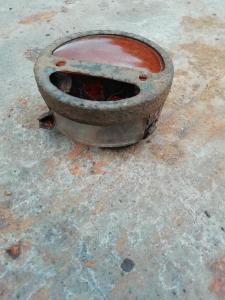Ободок заднего фанаря со стклами Газ АА