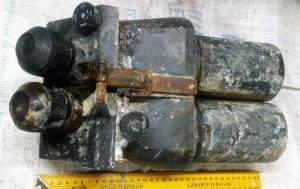 зенитный бинокль d.f 10х80 Flakglas