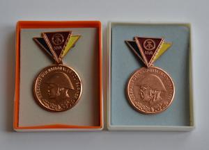медаль ГДР минт в коробочке