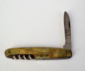 перочинный ножик с перламутровыми накладками