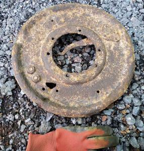 Хорьх 901, опорный диск