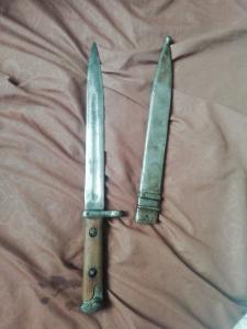 Штык-нож. СВТ-40.Ножны-капля.