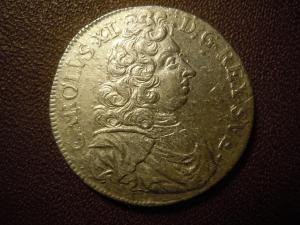 2 марки 1694 г. Швеция.Серебро.Редкая.