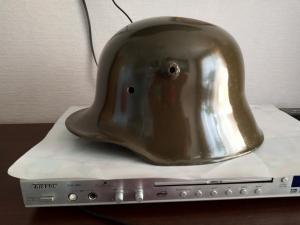 Шлем каска немецкая рогач ПМВ