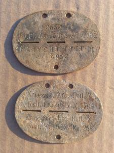 Два Сталинградских жетона.