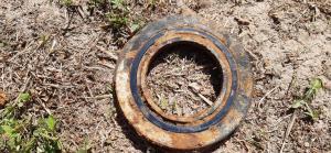 Лабиринтное кольцо опорного катка pz-4