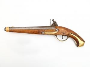 Запчасти кремневого пистолета на атрибуцию