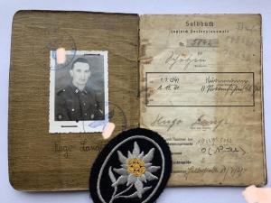зольтбух офицера СС