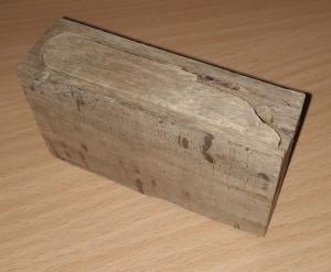 деревянный пенал под Sprengkapsel №8