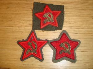 Разнопарные знаки различия - Красной Армии