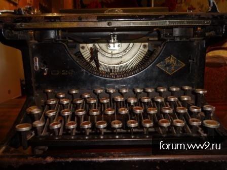 Печатная машинка F.K.