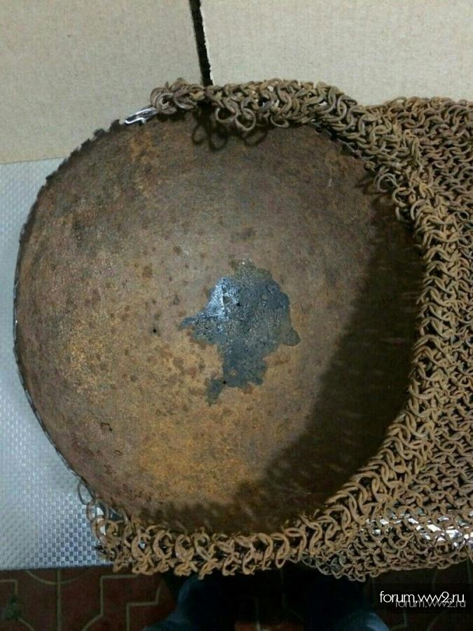 Старинный шлем