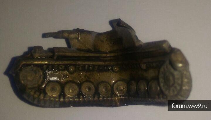 Нашивка за уничтоженный танк коп
