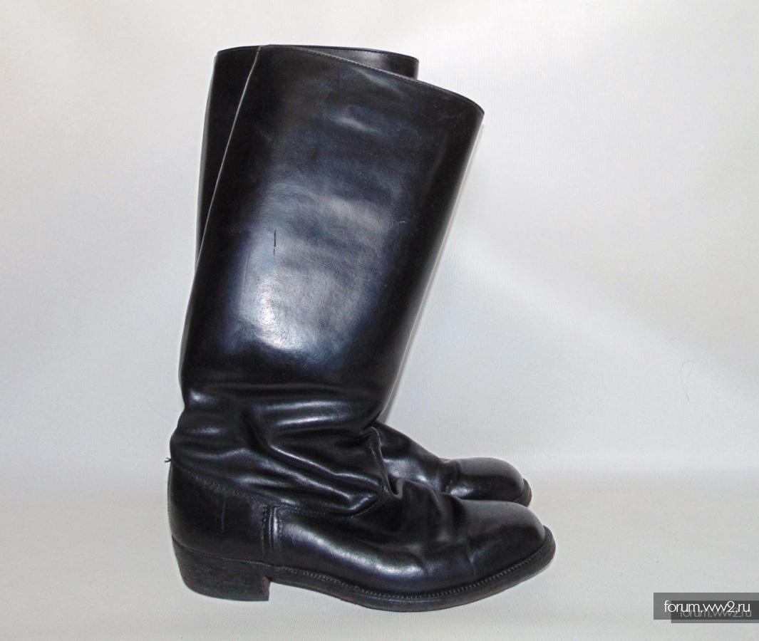 Сапоги хромовые генеральские СССР , размер 41