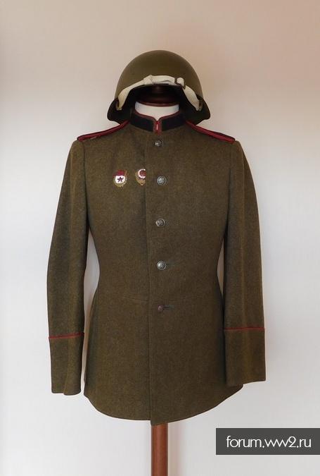 Парадный комплект танкиста обр.1943г