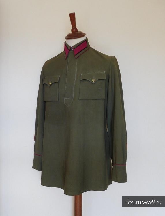Рубаха Батальонного Комиссара пехоты обр. 1935г