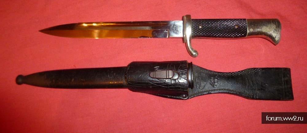 штык нож акулий зуб KS98 парадный офицерский с подвесом весы