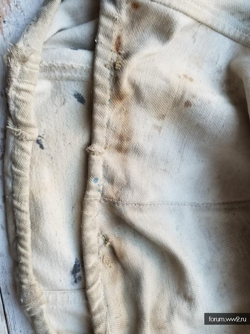 Маскировочный чехлы, белые, на каску