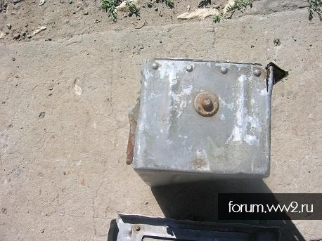 Коробка для элементов питания УКВ р/с типа РРУ