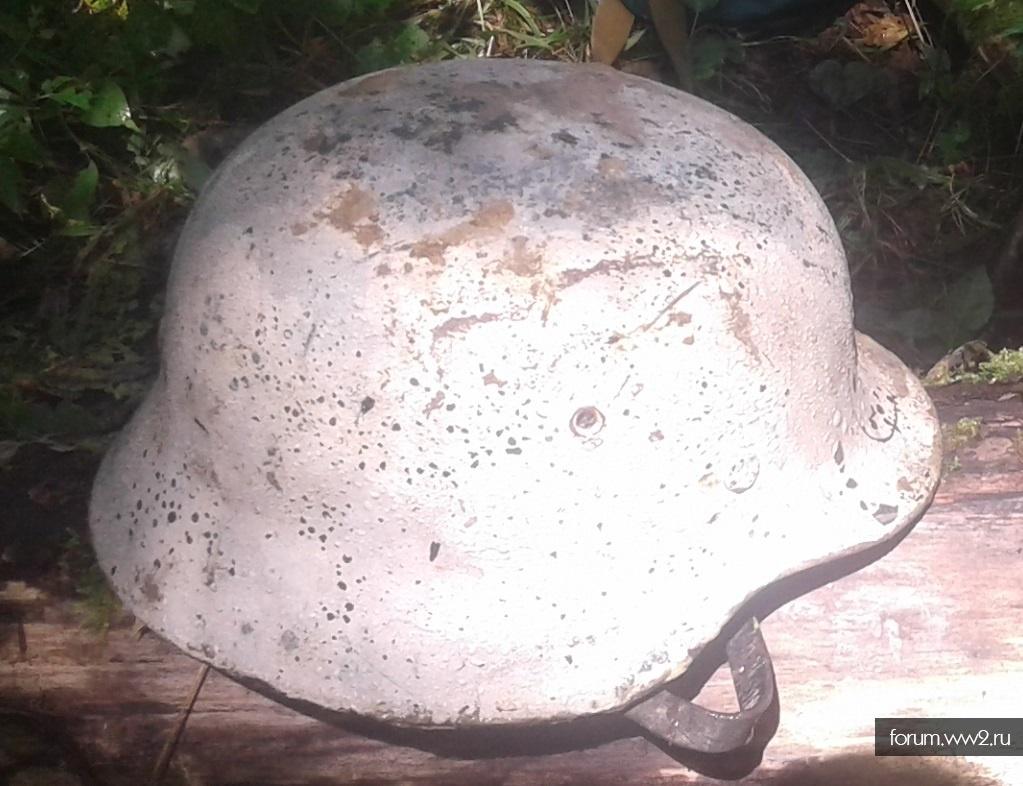 Зимние немецкие шлемы