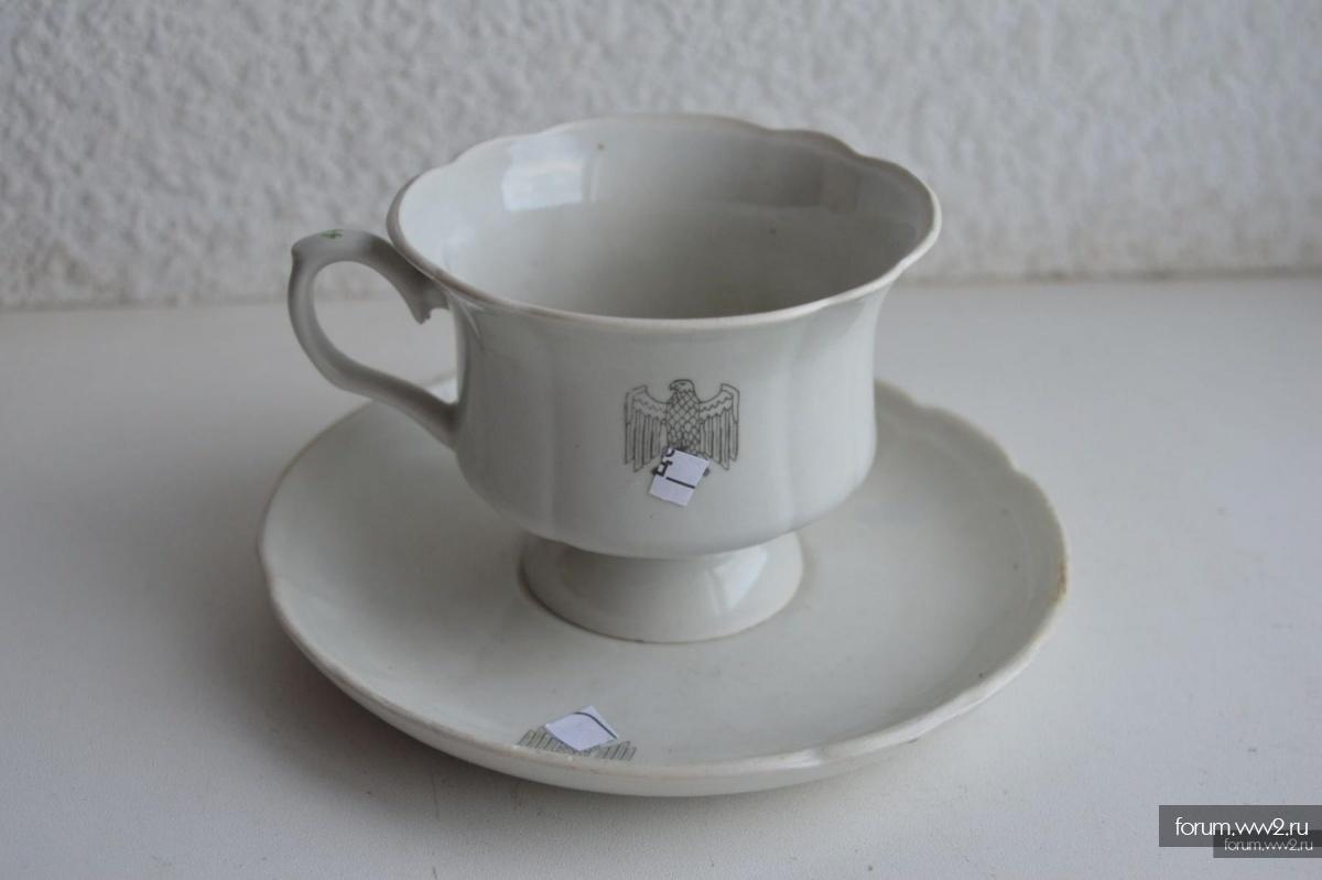 Чайная пара чашка и блюдце СС