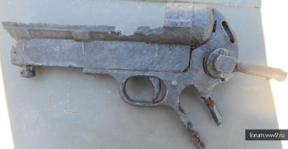 Останки MP-40