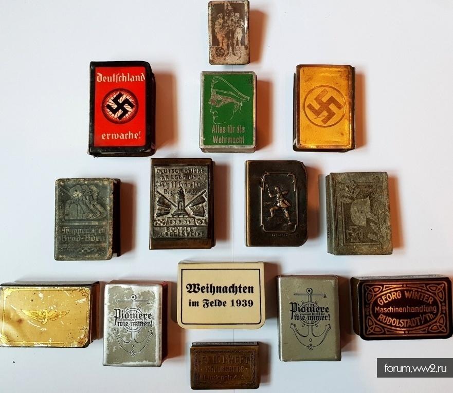 Спичечницы и Спички (Рейх и Советы)