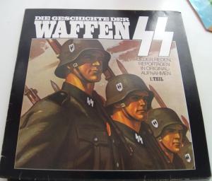2 тома пластинки Waffen-SS