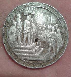 настольная Медаль 1906 г. Германия