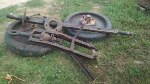Колёса от передка лафета пушки-гаубицы а19