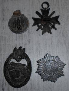 подлеченные боевые знаки рейха