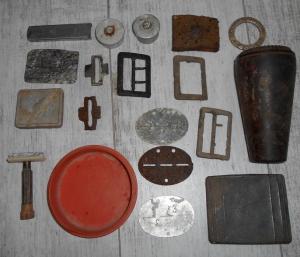 бытовые предметы с немецких позиций