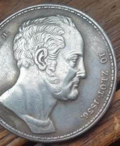 """1 1/2 рубля - 10 злотых 1836 года """"семейный"""""""