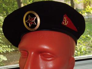 Берет морской пехоты СССР.