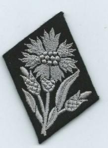"Петлица 22. SS-Freiwilligen-Kavallerie-Division ""Maria Theresia"""