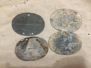 Пустышки жетоны 4шт лотом