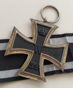 """Железный крест 2 класса 1914, клеймо """"KO"""""""