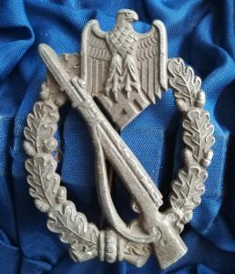 Пехотный штурмовой знак. неклейменный S&L