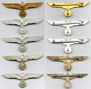 Металлические знаки различия Wehrmacht