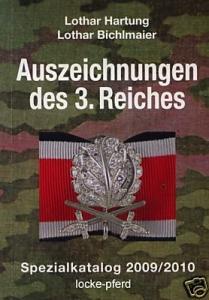 Каталогu по наградам u прягам Третьего Рейха.