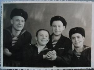 моряки, лётчики и все-все в частных фотоальбомах