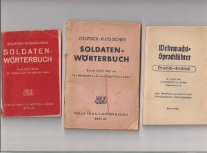 Русско-немецкий военный разговорник.