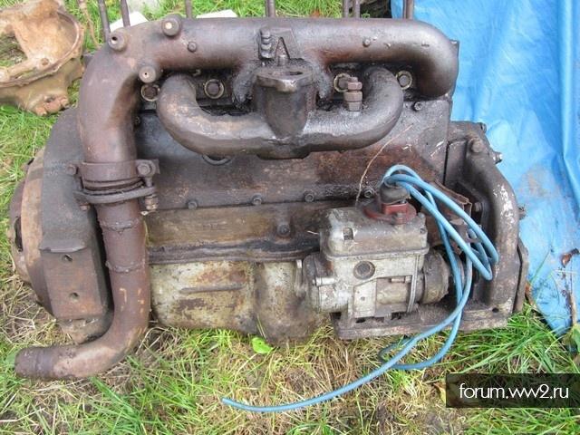 Двигатель Газ АА? Или 67?