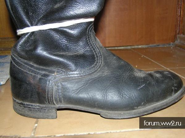 Когда появились кирзовые сапоги со шнуровкой для ВДВ?
