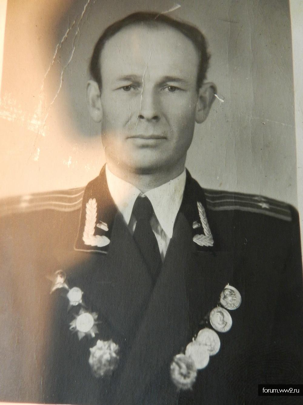 Наградной комплект капитана разведки
