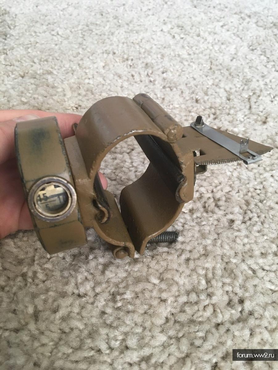 Квадрант-угломер к гранатомету Дьяконова