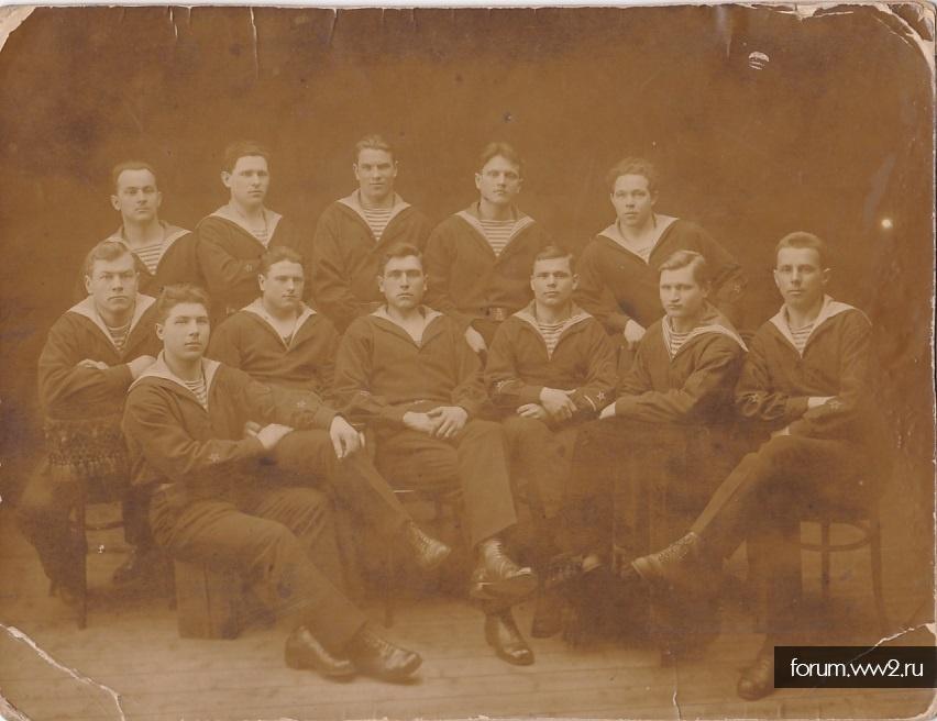 Группа моряков РККФ. Штаты,нашивки.